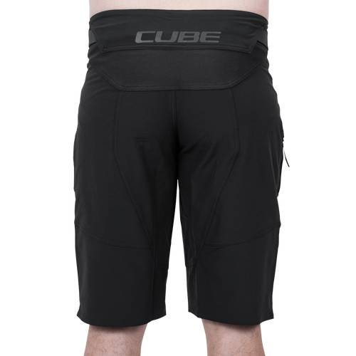 CUBE EDGE Baggy Shorts X Actionteam black